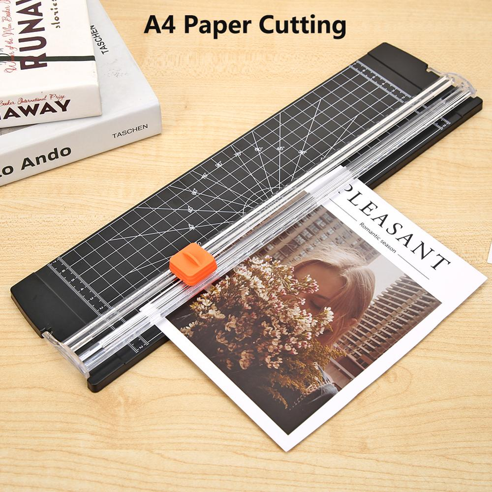 A4 Paper Cutting Machine Portable A4 Paper Cutter Art Trimmer Photo Scrapbook Blades DIY Office Paper Trimmer Cutting Machine