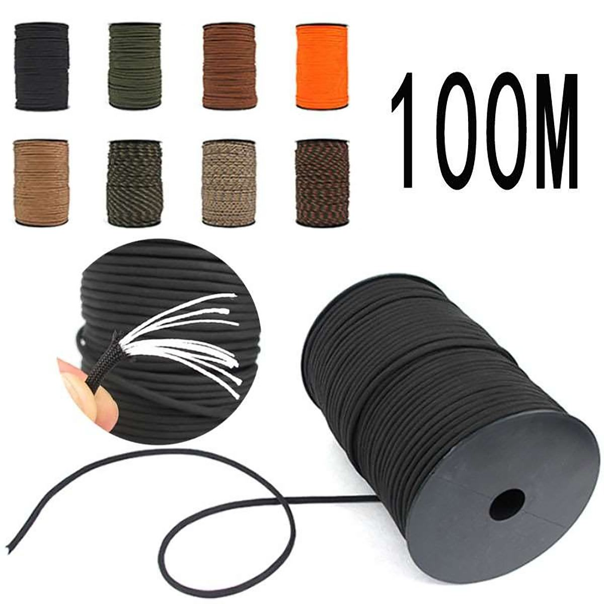 Durable New Strand 9 Core Paracord Parachute Cord Lanyard Survival 4 mm Diameter