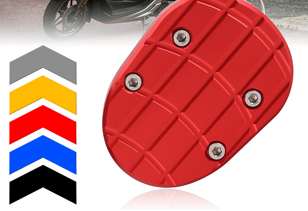 Details about  /Kickstand Side Stand Extension Enlarge Pad Base for Honda Forza300 2017-19