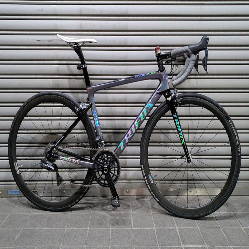 2019 Road Bike Frame Carbon Road Bicycle Frame Di2 Mechanical UD Black Carbon Frame Size 440 490 520 540 560mm SL6 Carbon Frame