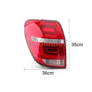 Image 3 - MZORANGE 1 Pair Tail Light For Chevrolet Captiva 2008 2009 2010 2011 2012 2013 2014 2015 Rear Signal Taillight Car Styling