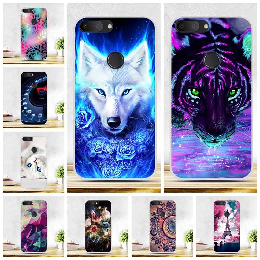"Case For Alcatel 1S 2019 5.5 inch Case Silicone Soft TPU Back Shell Cover For Fundas Alcatel 1S 2019 5024D 5.5"" Cover Coque Capa"