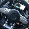 W176 A45 CLA45 C63 알루미늄 자동차 스티어링 휠 시프트 패들 시프터 확장 자동차 메르세데스 벤츠 AMG 2015-2019, 2 개