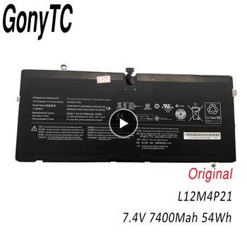 GONYTC L12M4P21 7.4v 54wh 7400mah Original New laptop battery L13C4P01 121500156 L13L4P01 FOR LENOVO IdeaPad Yoga 2 Pro 13