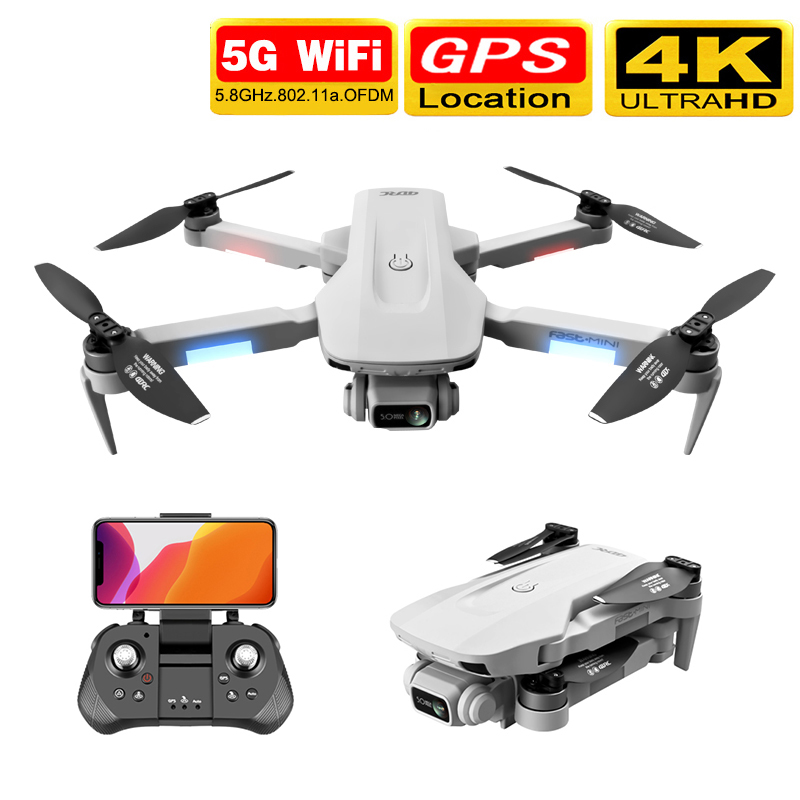 2020 nova f8 zangão gps 5g hd 4k câmera profissional 2000m transmissão de imagem motor sem escova dobrável quadcopter 30 minutos dron