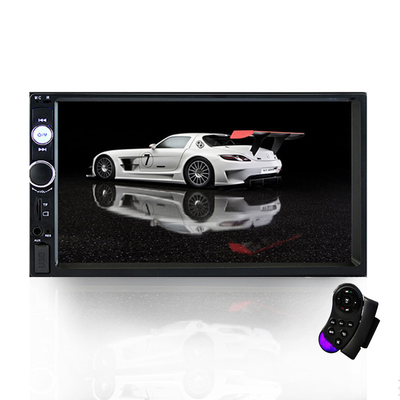 Radio-Recorder Multimedia-Player Rearview-Mirror Touch-Sensitive Car-Audio Stereo Bluetooth