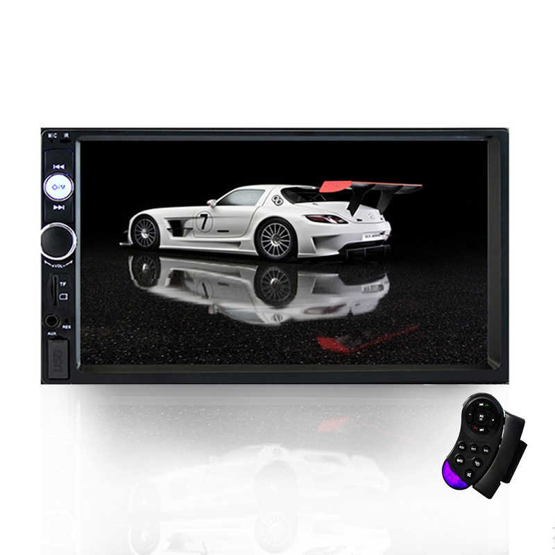 Mobil MP5 Player Mobil Radio Recorder Bluetooth Stereo Multimedia Player Touch-Up Video Pemutaran Audio Mobil Kaca Spion