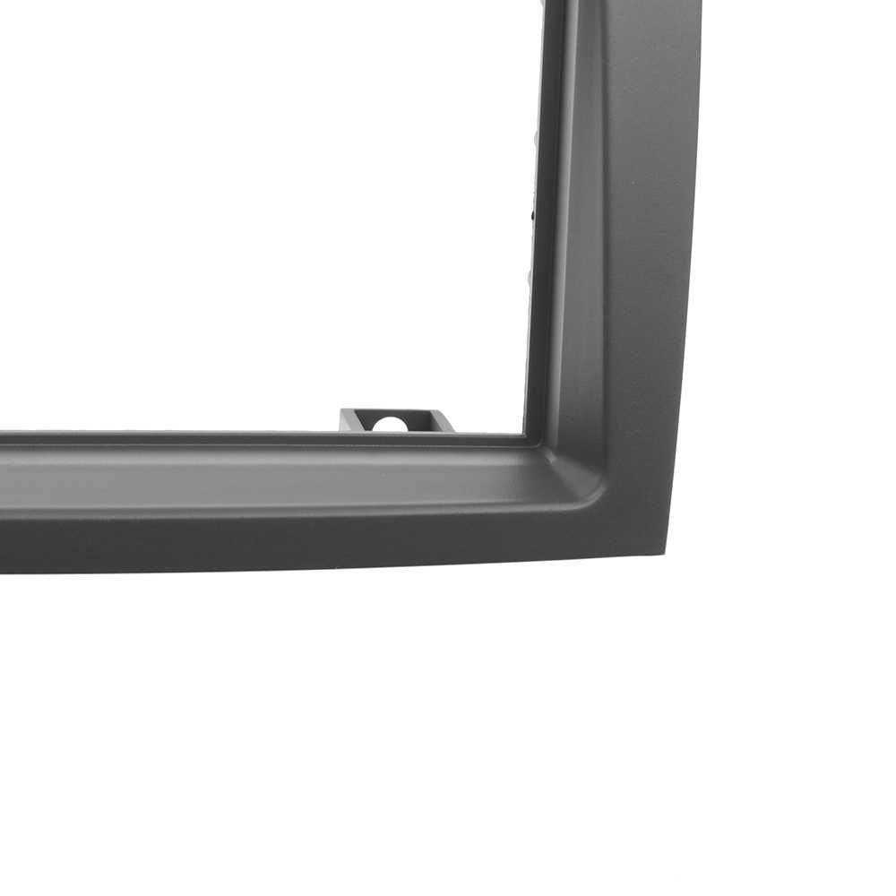 2Din רכב רדיו Fascia עבור רעיון פיאט 2004-2007 זוגי דין סטריאו דאש לוח הר לקצץ התקנה ערכת אודיו DVD נגן מסגרת