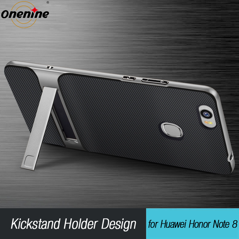 "3D kickstand phone case para huawei honor note 8 case capa de silicone 6.6 ""híbrido tpu + pc fundas capa para huawei honor note8"