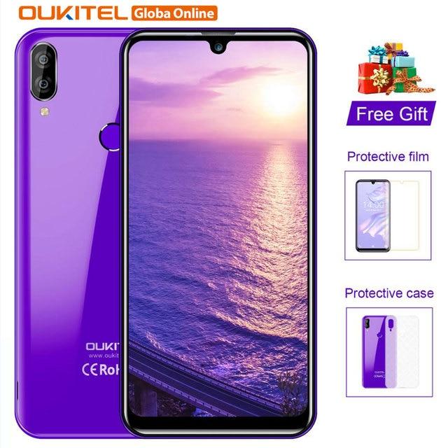 "OUKITEL C16 Pro Mobile Phone 3GB / 32GB Quad Core 5.71"" Cellphone 2600mAh Fingerprint Face ID 4G LTE Android 9.0 Smartphone"