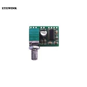 Image 3 - 100 قطعة PAM8403 وحدة مكبر كهربائي رقمي مجلس مصغرة فئة D مكبر كهربائي مجلس 2*3 واط USB امدادات الطاقة
