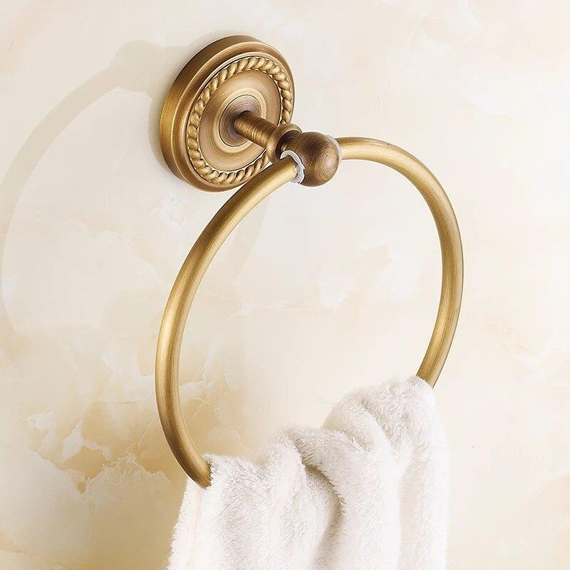 Настенный установленный черный полотенце держатель для ванной аксессуары твердый латунь ванна полотенце штанга полотенце вешалка