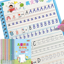 8 Books Learning Numbers In English Painting Practice Art Book Baby Copybook For Calligraphy Writing Kids English Lettering Toy