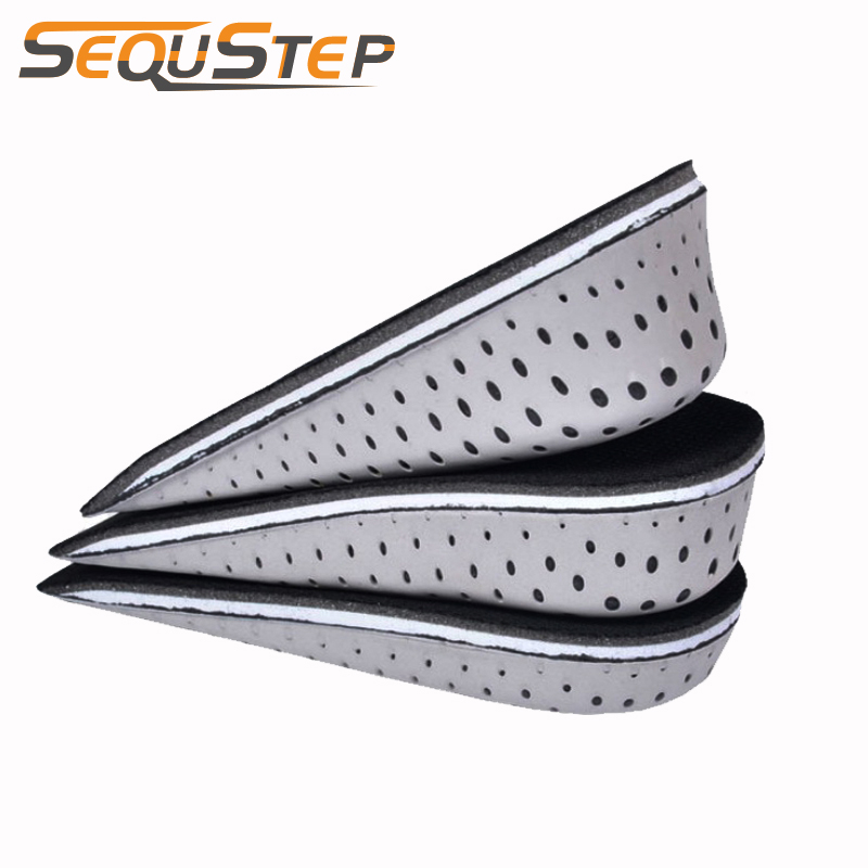 Memory Foam Height Increase Insole Heighten Insole Heel Lift Pad Insert Cushion Heightening Taller Insole Shoe Pad
