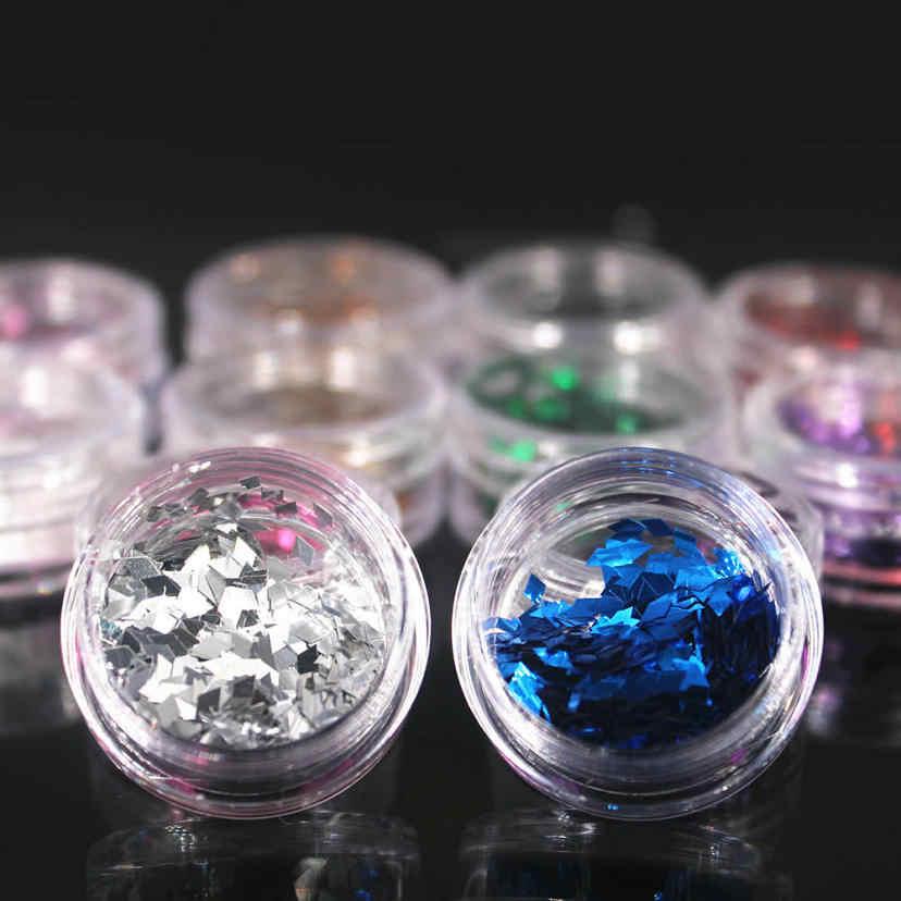 1Pcs DIY Nail Art Dark Gold Diamond Sequins Nail Rhinestone Irregular Beads Manicure 3D Nail Art Decoration In Nails Accessories