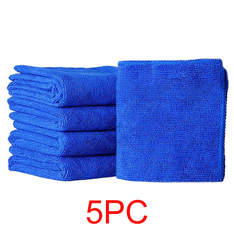 25*25cm Microfiber Clean Auto Car Detailing Soft Absorbent Microfiber Cloths Towels Wash Duster For Home Kitchen Atuo Clean Tool
