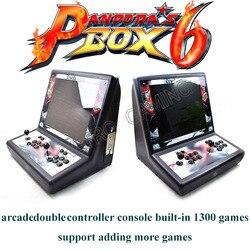19 zoll LCD Arcade Konsole Pandora Box 6 1300 Spiele in 1 10 * 3d Spiel 2 Spieler Bar top Schrank Maschine Raspberry PI 4B