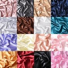Photographie tir accessoires de décoration 16 couleur soie lisse mercerisé tissu Photo Studio accessoires fond tissu Fotografia