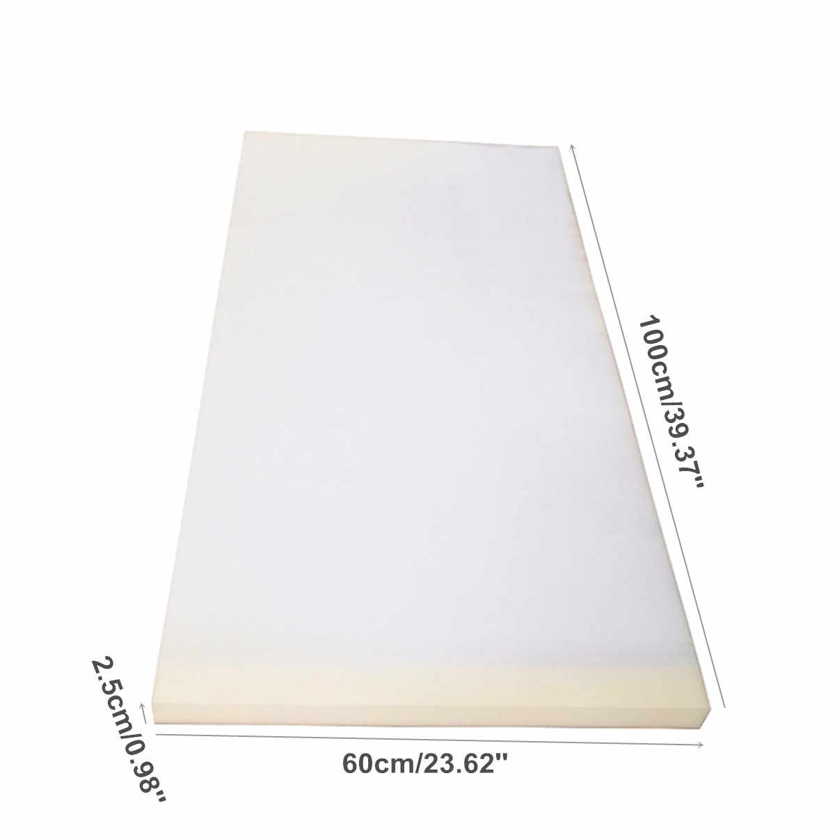 40x24x1 Inch High Density Foam Seat Cushion Replacement Upholstery
