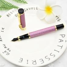 1pcs high-grade fountain pen dragon crystal metal business w