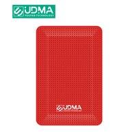 UDMA-Disco duro portátil externo para PC/Mac, nuevo estilo, 500GB de capacidad de almacenamiento, 4 colores