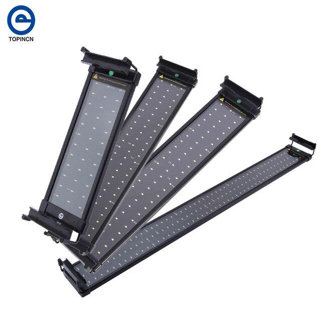 36/72/108/144 akvaryum LED ışık ing tatlısu balık lamba akvaryum LED ışık için su tankı akvaryum akvaryum LED ışık Pet malzemeleri