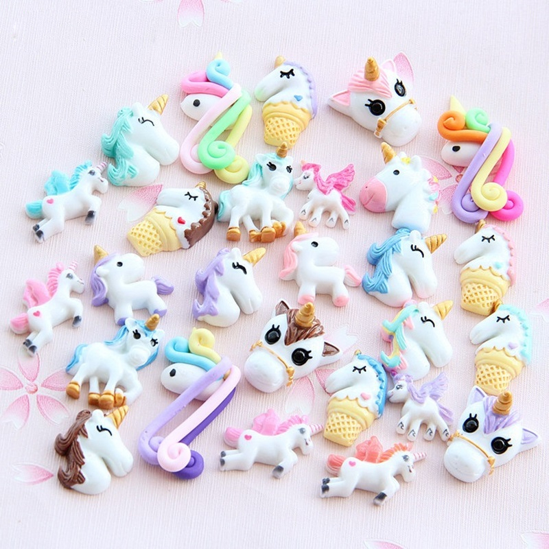 New 1/3/5/10pcs Miniature Mini Food Fruits And Vegetables Kitchen Toys Resin Fake Food Unicorn Toy For Doll Children Kids Toys E