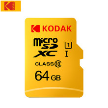 KODAK U1 Micro SD Card 128GB 32GB 16GB tarjeta micro sd 64GB Memory Card Class 10 TF Card High Speed SD Card microsd TF/SD Card