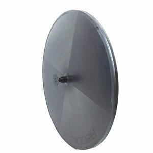 Image 2 - Elite Carbon Disc Wheels Japan Toray Carbon Fiber T700 Tubular Or Clincher Racing Wheelset  Basalt Surface Powerway Hub