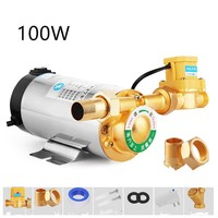 New 220V Household Mute Automatic Water Booster Pump 100W/150W/280W For Water Solar Heater Shower Pressure Booster with EU Plug