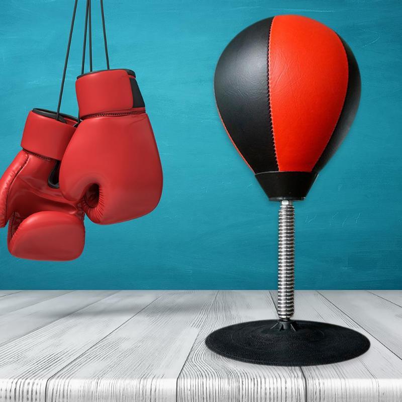 Boxing Ball Sports Punching Tool Durable Desktop Sucker Ball Exercise Equipment Home Desktop Decompression Essential Supplies