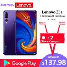 Global ROM Lenovo Mobile Phone 6GB 64/128GB Smartphone Z5S 6