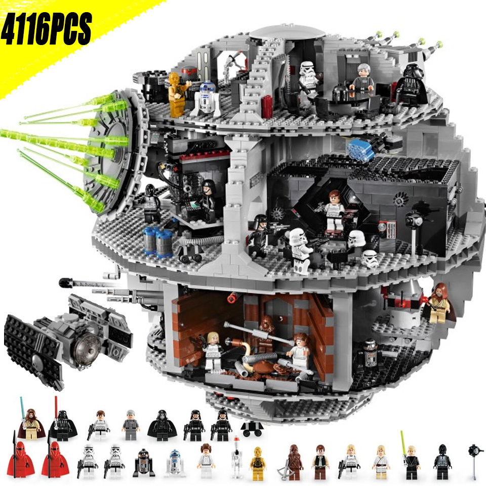 Death Star 05063 Wars Plan série compatible avec lepinblock blocs de construction briques jouets éducatifs cadeau