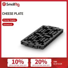 SmallRig Multi purpose Switching Plate for Rail block/Dovetail Camera Cheese Plate With 1/4 3/8 Thread Holes   1681