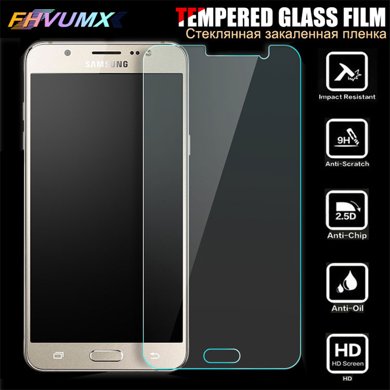 9H Anti-Burst Tempered Glass For Samsung J1 J2 J3 J4 J5 J6 J7 J8 2015 2016 2017 2018 J4+ J6+ j4 j6 Plus Screen Protective Glass image