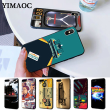Future DeLorean Time Machine Silicone Case for iPhone 5 5S 6 6S Plus 7 8 11 Pro X XS Max XR цена