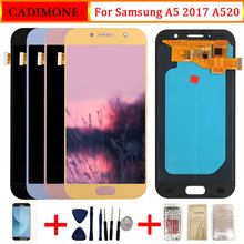 LCD For Samsung Galaxy A5 2017 A520 LCD Display AMOLED Screen Touch Re