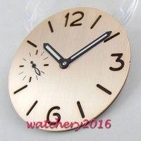 37.5MM PARNIS sterile Dial + Watch Hands fit ETA 6497 6498 ST 3600 Series movement Mens Watch dial Repair Tools & Kits    -