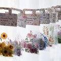 30 шт./упак. подсолнечника большими лепестками роз декоративные Стикеры s Скрапбукинг ярлыком дневник канцелярские принадлежности для альбо...