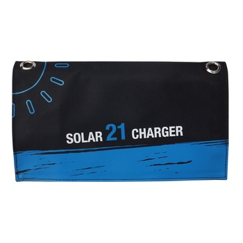 Outdoor Solar Charger Panel Waterproof USB Port Folding Compact Smartphone Charger New Arrival