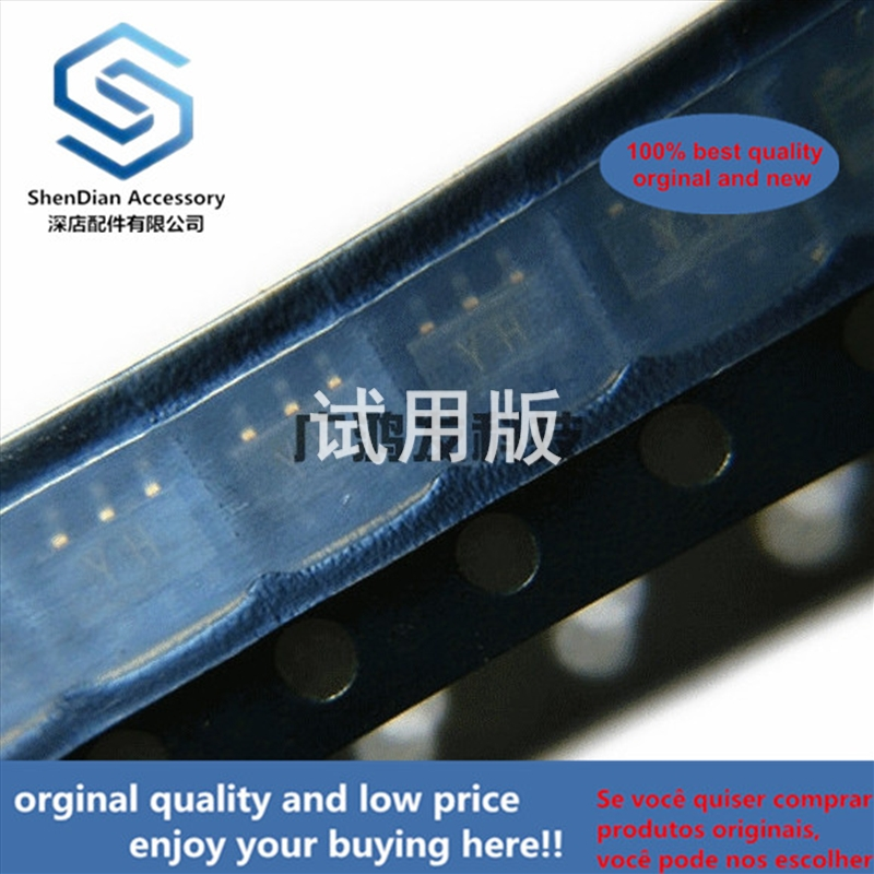 10pcs 100% Orginal New RN2607 Dual PNP Composite Band-stop Transistor SOT-163 SOT23-6