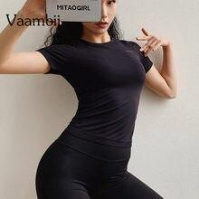 Женская спортивная одежда футболка для борьбы женщин фитнеса