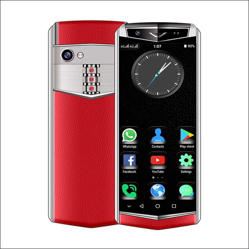 Anica K-Touch M17 MINI 4G สมาร์ทโฟน 3.5 นิ้ว 3GB RAM 32G/64G ROM android 8.1 Face ID WiFi Hotspot ขนาดเล็กหนังโทรศัพท์มือถือ