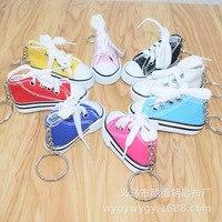 Mini Leinwand Kleine Modell Auto Schuh Kleine Schuhe Anhänger Keychain Baumwolle Tuch Einfarbig Kleine Geschenke|Schlüsseletui für Auto|   -