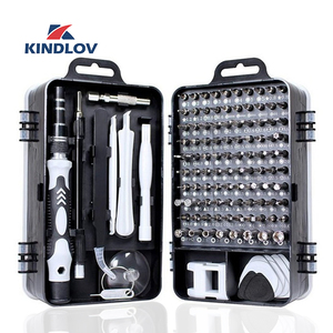 KINDLOV 112 in 1 Screwdriver Set of Screw Driver Bit Set Multi-function Precision Mobile Phone Repair Device Hand Tools Torx Hex(China)
