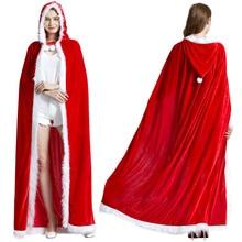cloak shawl adult female hooded golden velvet costume performance clothes