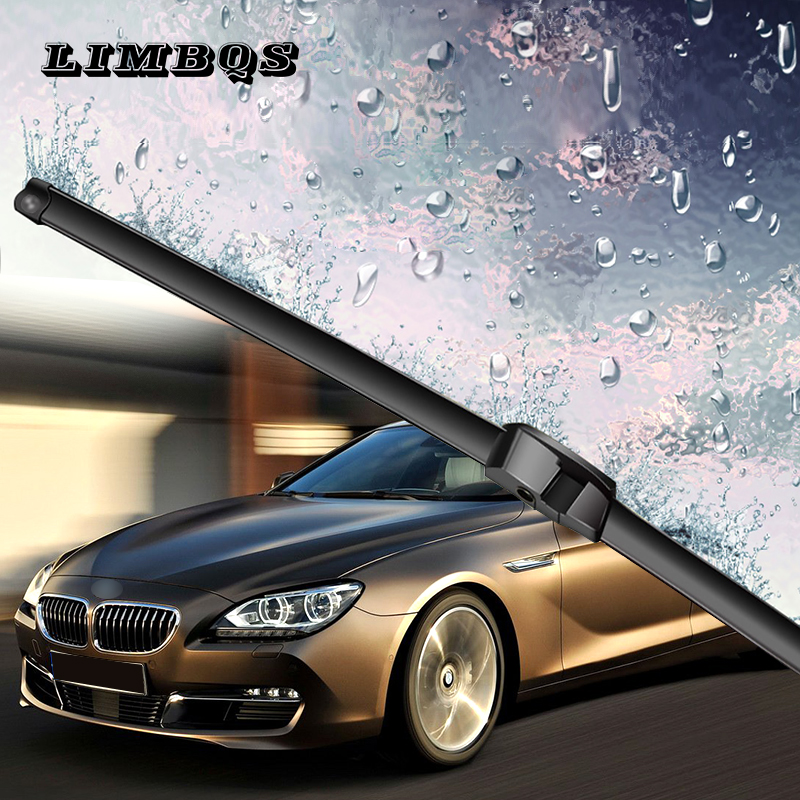 2 pcs car <font><b>windshield</b></font> <font><b>wiper</b></font> blades for <font><b>bmw</b></font> 3 series e30 e90 <font><b>f30</b></font> f32 soft rubber front windscreen <font><b>windshield</b></font> cleaner replace image