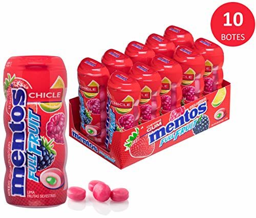 Mentos Gum Pot Wild Fruits