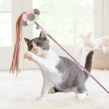 Cat-Toys Pet-Products Cats-Interactive-Stick Rod-Teaser-Wand Funny Plastic Cute for Colorful