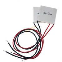 Peltier-refrigerador termoeléctrico TEC1-12706, 12V, 6A TEC, nuevo de refrigeración de semiconductores TEC 12706, 1 unids/lote